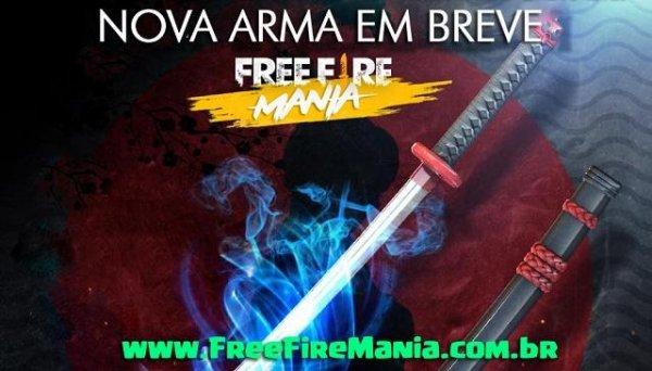 OFICIAL: KATANA - Nova Arma Chegando!