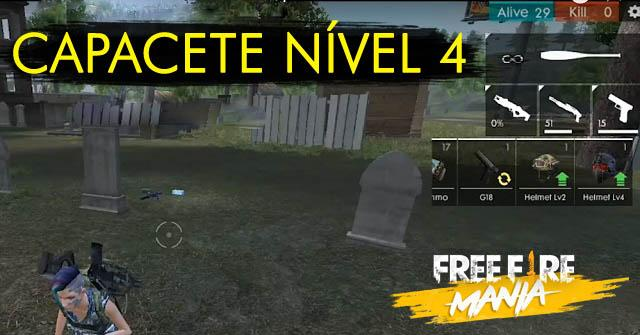 OFICIAL: Novo Capacete Nível 4