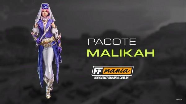 Ouro Royale do Free Fire: novo pacote Malikah é o próximo a chegar na roleta do Battle Royale