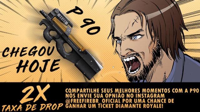 P90 Disponível AGORA!!!
