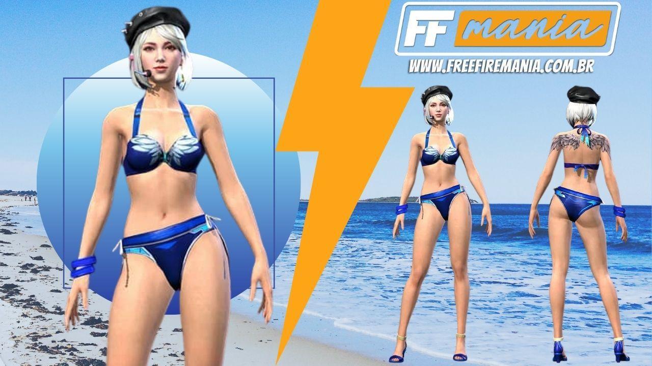 Pacote Bikini Angelical Free Fire: tudo que você precisa saber sobre a skin
