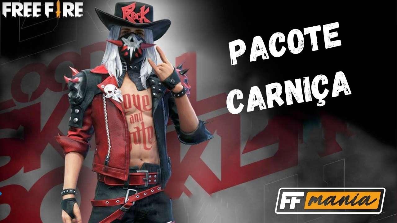 Pacote Carniça FF: conheça a nova skin do Free Fire