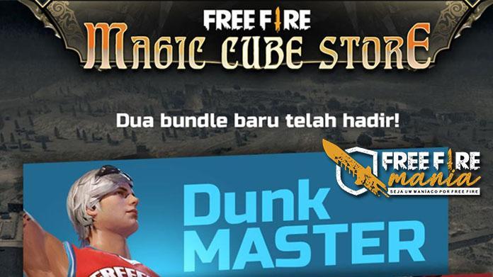 Pacote Dunk Master de Volta ao Free fire