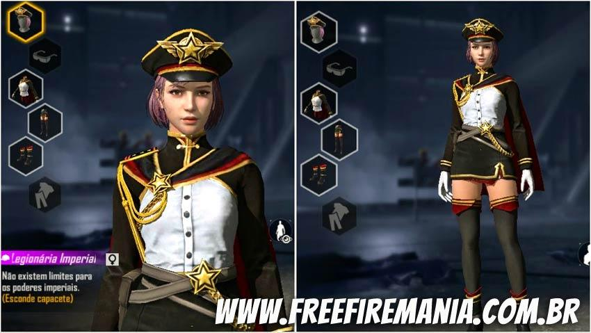 Nova skin Legionária Imperial na Loja de Estilhaços