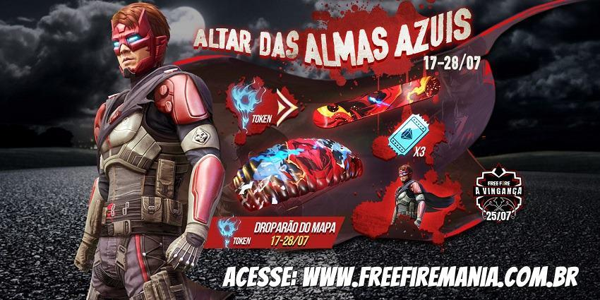 Free Soulless Avenger Pack on Free Fire for Blue Soul Orbs