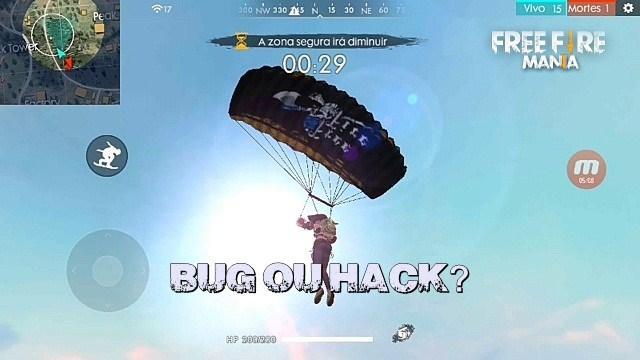 Paraquedas - Bug ou Hack?
