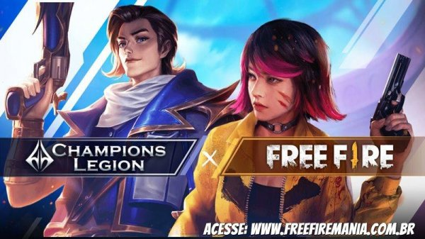 Parceria do Free Fire e Champions Legion dá itens aos jogadores