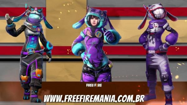 Páscoa Free Fire 2021: Garena vai liberar 3 skins temáticas grátis, veja como resgatar!