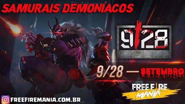 Passe de Elite de Outubro: Samurais Demoníacos
