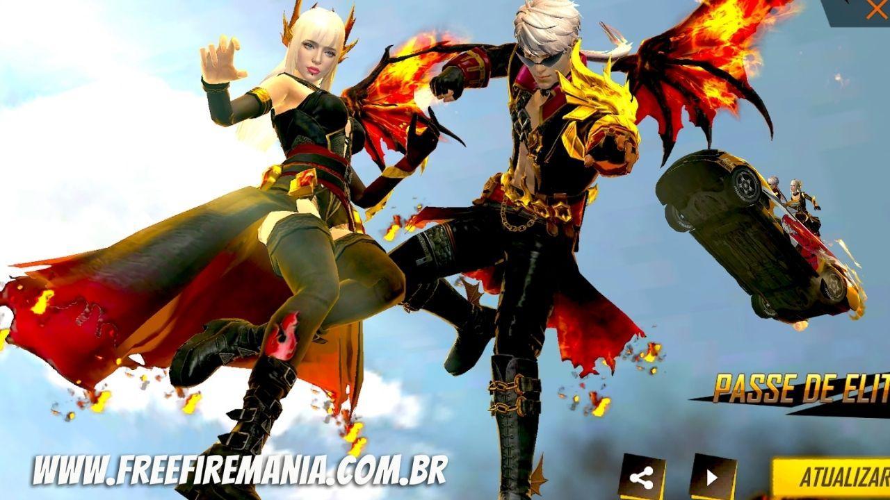 Covil dos Dragões Free Fire