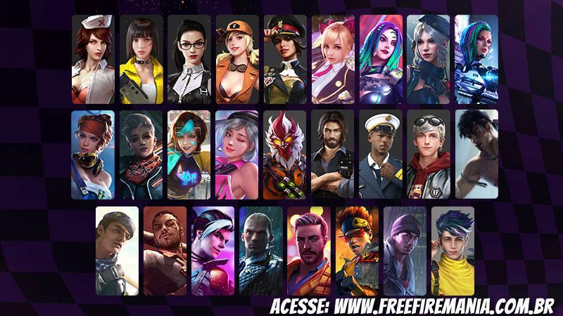 Karakter gratis di hari ulang tahun Free Fire, tahu yang mana yang harus dipilih!