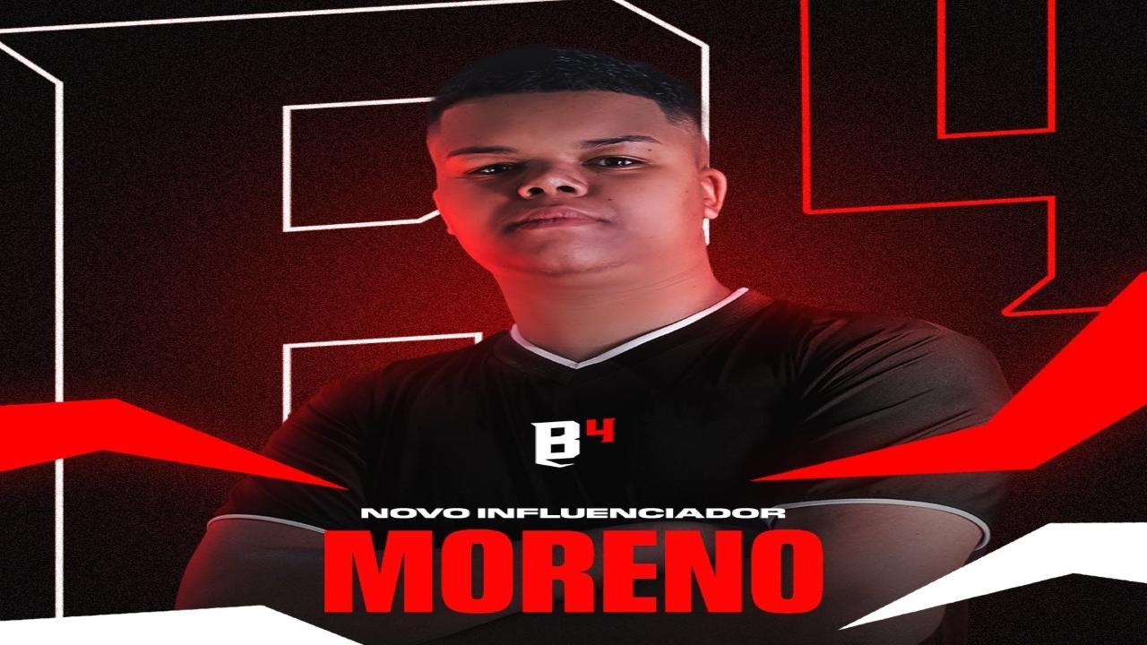 Pouco mais de um mês de anunciado, Moreno se despede da B4 Esports