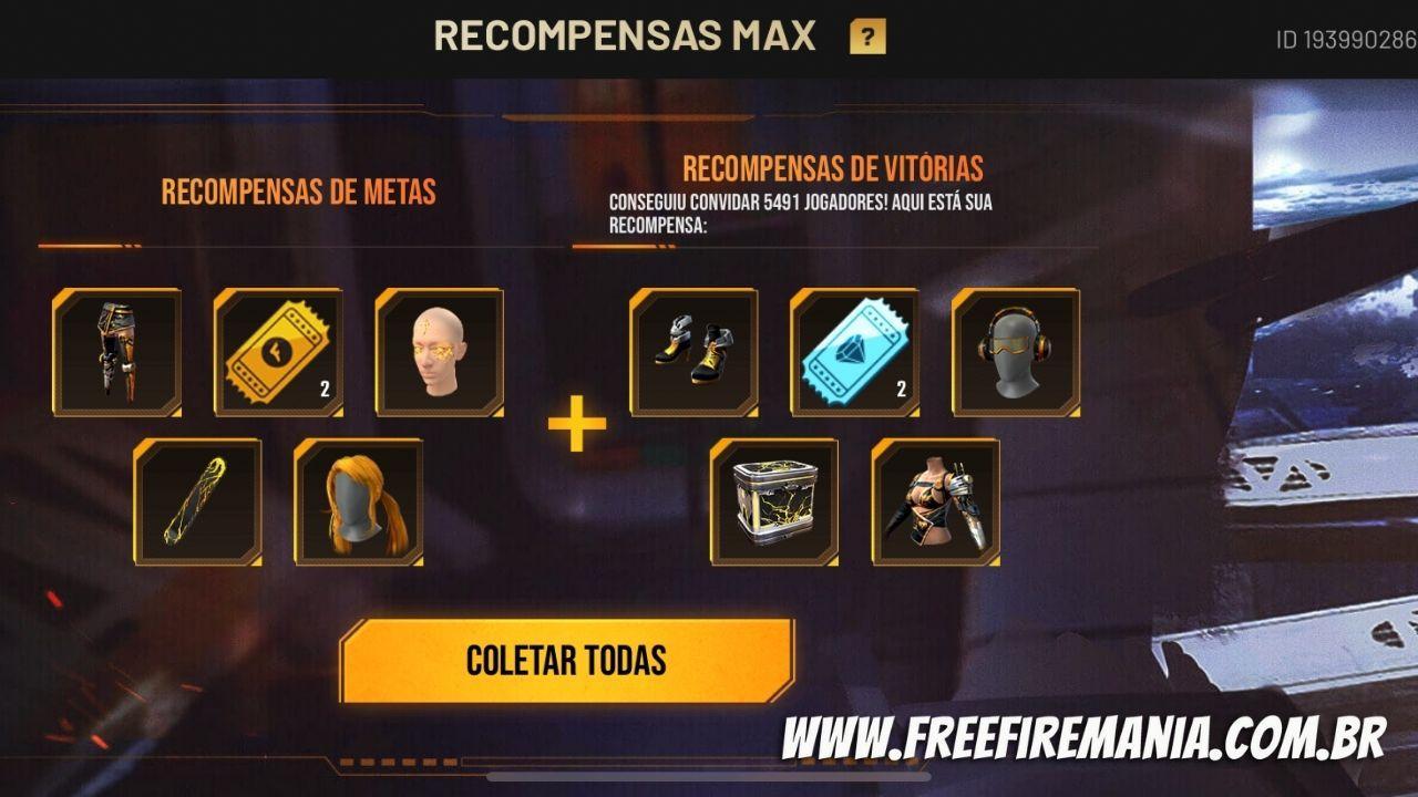 Pré-registro Free Fire Max: recompensas são liberadas, saiba como resgatar