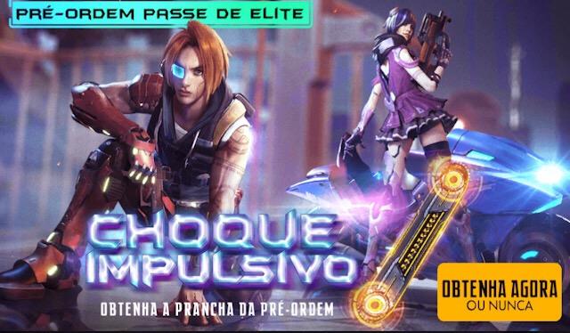 Pré Venda - Passe de Elite 8 Choque Impulsivo - Janeiro 2019