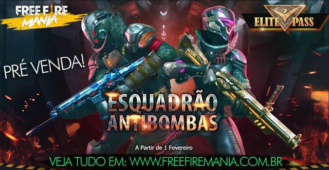 Pré Venda: Passe de Elite 9 - Esquadrão AntiBombas