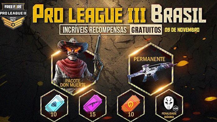 Premiação da Free Fire Pro League
