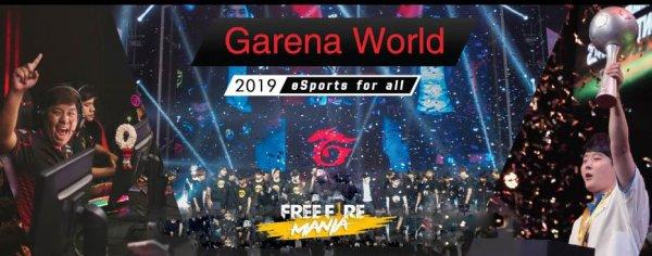 Prepare suas malas, 1º Torneio Mundial de Free Fire!