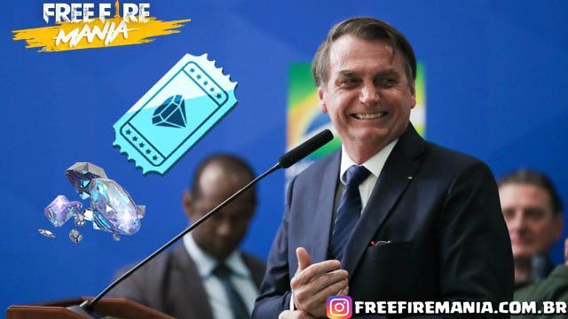 Presidente Bolsonaro estuda Baixar os Impostos na Compra de Diamantes