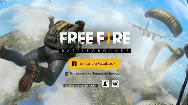 Problema: Facebook Oficial do Garena Free Fire BR