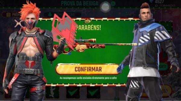 Prova da Bexiga Free Fire: evento marca o retorno de pacotes e skins famosas do Battle Royale