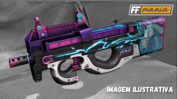 Próxima Incubadora do Free Fire: Armas Sônicas da P90 chega em Dezembro/2020