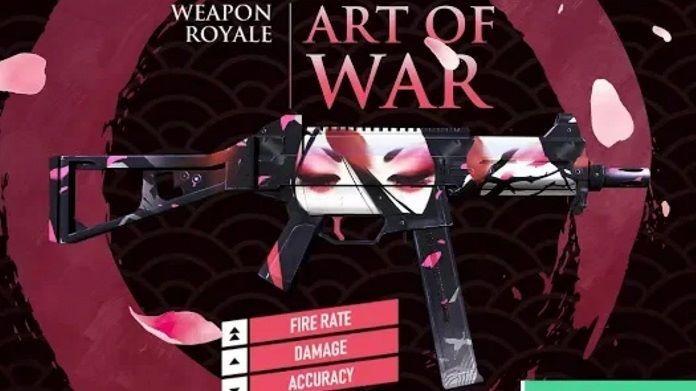 Próximo Arma Royale da UMP - Geishas Fascinantes - Free Fire
