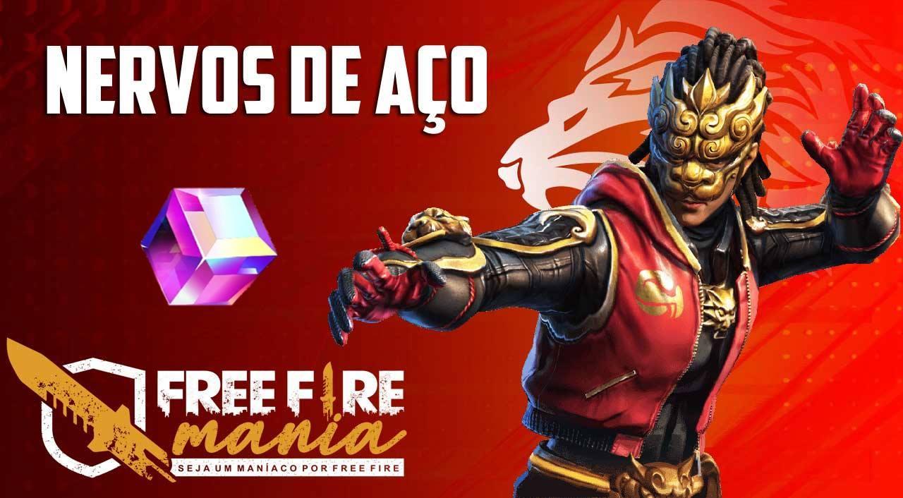 Próximo Cubo Mágico Nervo de Aços no Free Fire