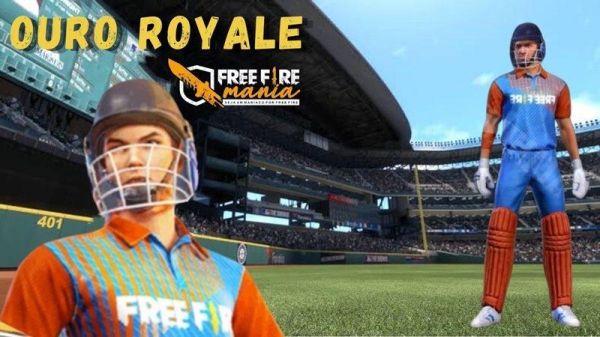 Próximo Ouro Royale do Free Fire: Críquete chega na atualização de setembro/2020