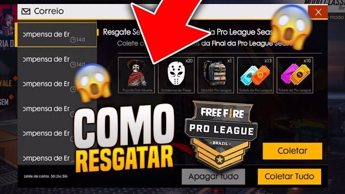 Quando chega a premiação da Pro League no Free Fire?