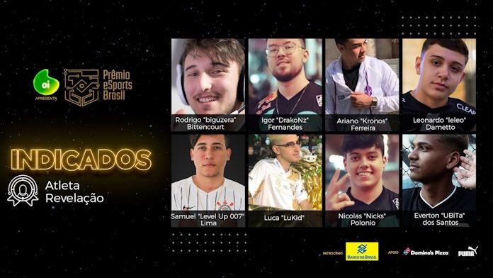 Quem será o Atleta Revelação de 2019? Prêmio eSports Brasil