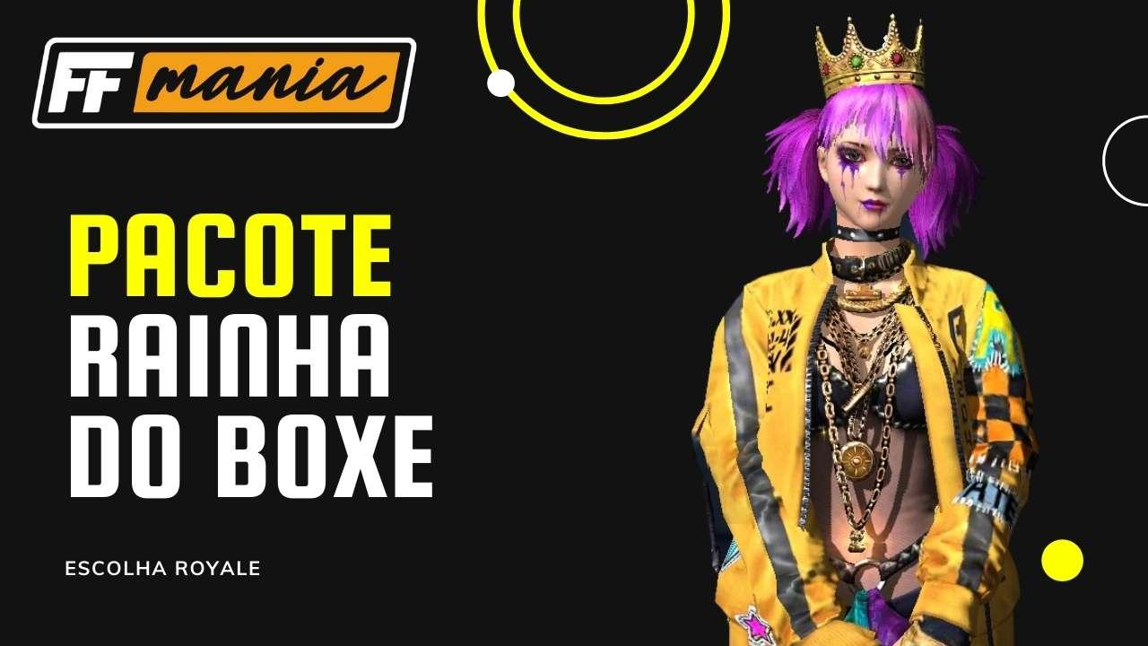 Rainha do Boxe: inédito pacote chega no Escolha Royale do Free Fire