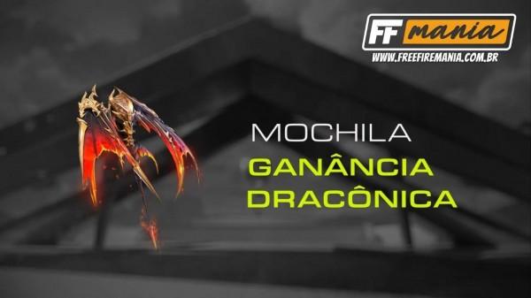 Recarga Free Fire: evento promocional neste sábado (25) traz a mochila Ganância Dracônica