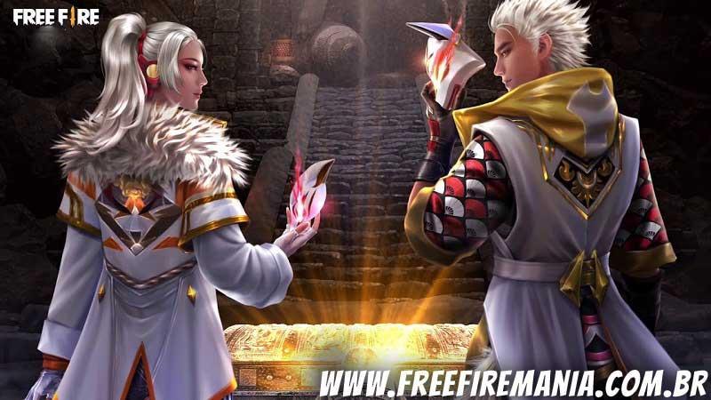 Recompensas e itens do Passe de Elite de Junho no Free Fire: A vingança de Inari