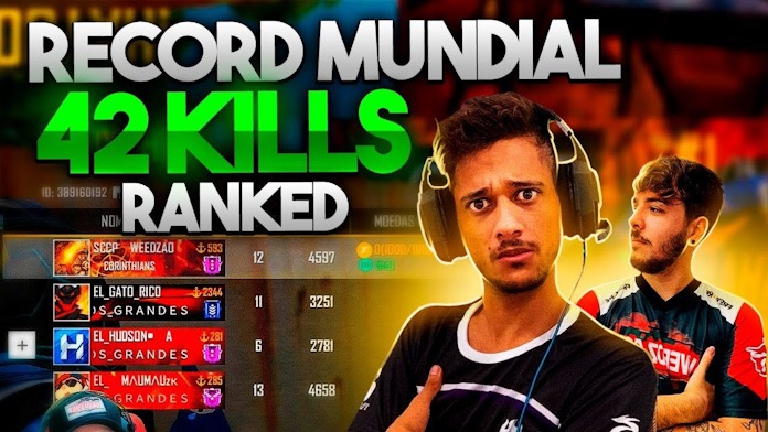 Recorde Mundial de Kills no Free Fire é de jogadores brasileiros