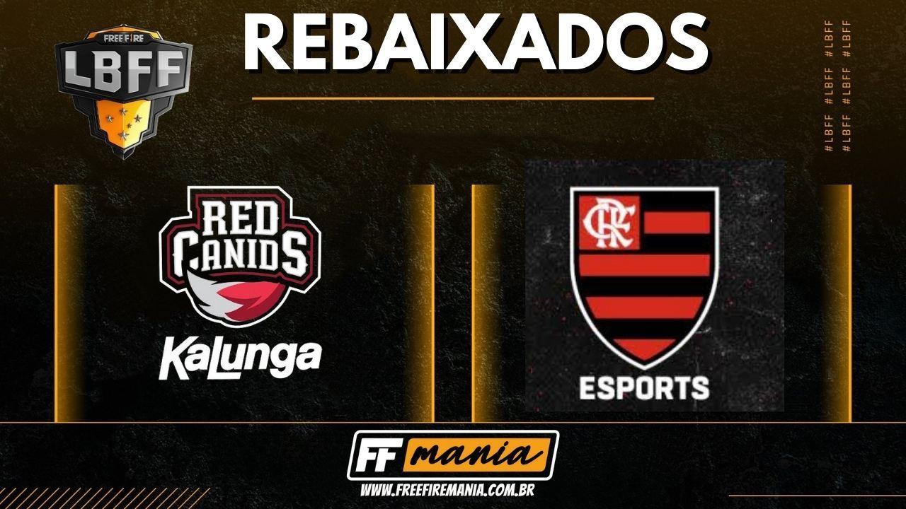 Red Canids e Flamengo são as equipes rebaixadas para a Série B da LBFF 5 em 2021