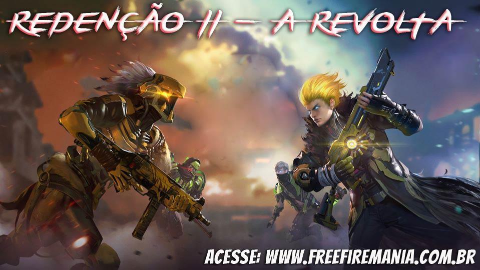 Redenção II, A Revolta: Muitos itens grátis no novo evento do Free Fire