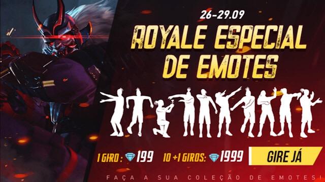 Royale Especial de Emotes