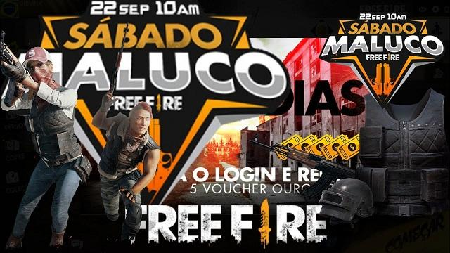 Sábado Maluco no Free Fire - 22/09