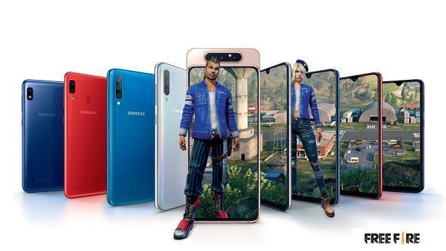 Samsung anuncia parceria com os novos Galaxy A e Free Fire