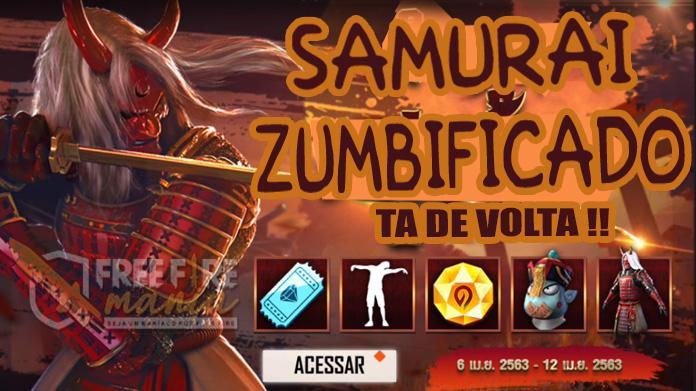 Zombified Samurai kembali ke Free Fire di Thailand