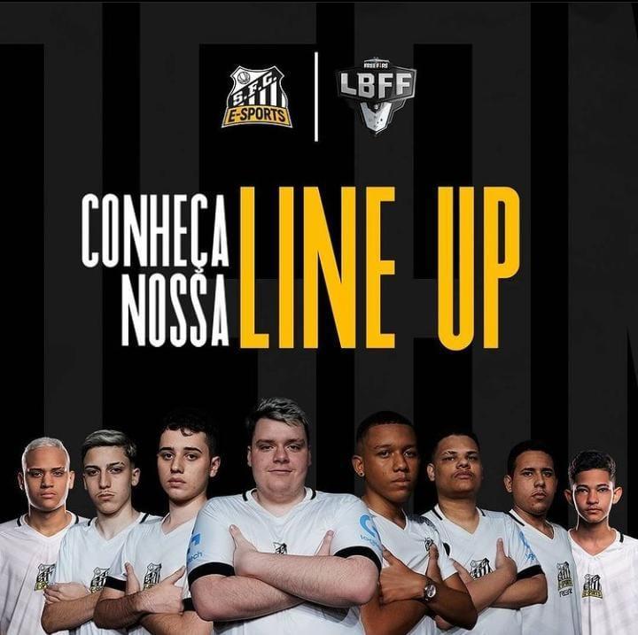 Santos Free Fire: anunciada a line-up para a LBFF Série B