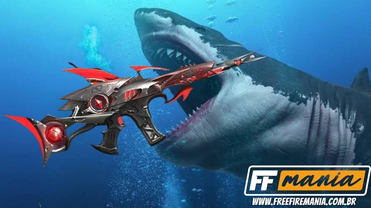 SCAR Megalodon Free Fire: senjata evolusioner hadir pada 2 Januari 2021, simak cara mendapatkannya