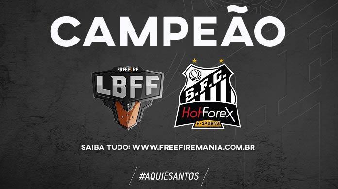 Série C da LBFF: Santos é campeão da Liga Brasileira de Free Fire