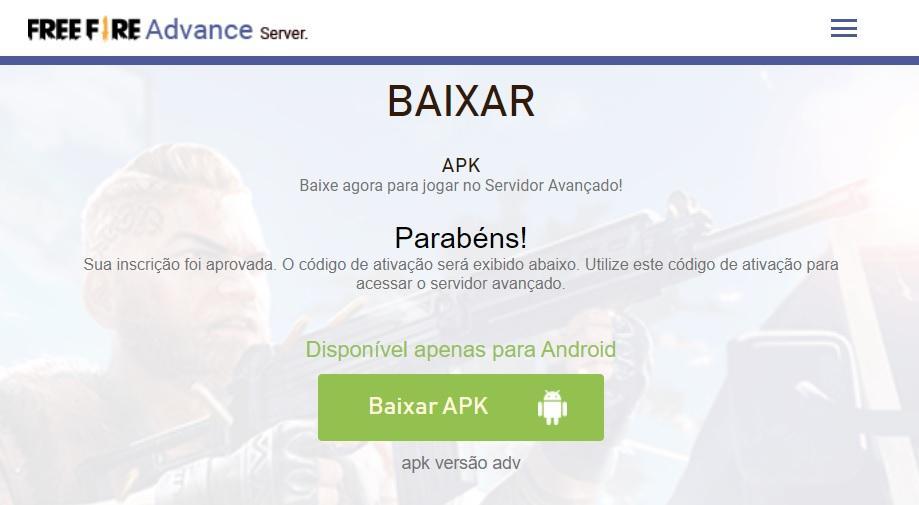 Servidor Avançado Free Fire Maio 2021: link para download de APK e como baixar no Android