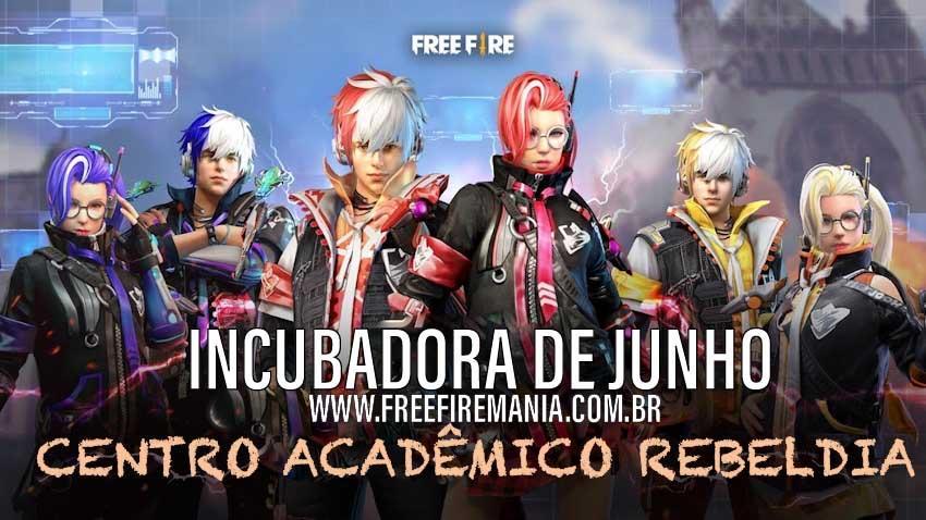 Conheça as skins da nova Incubadora de Junho 2020: Centro Acadêmico Rebeldia