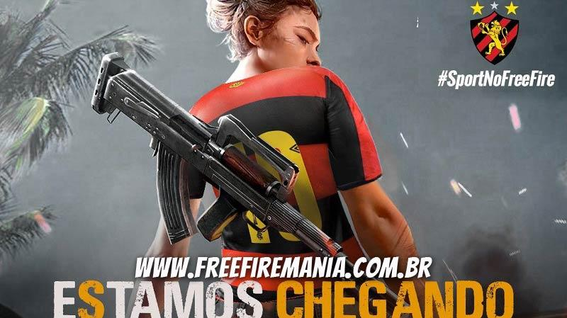 Time do Sport Club Recife chega ao Free Fire