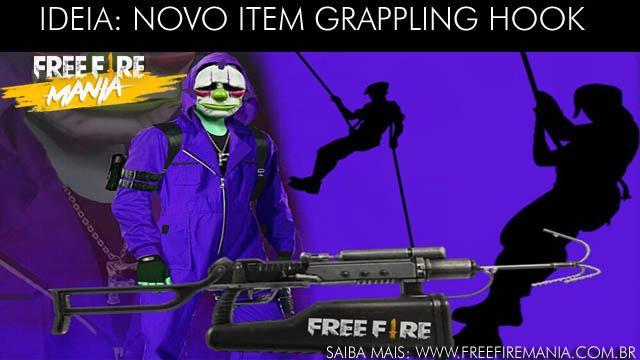Sugestão para a Garena: Novo Item Grappling Hook