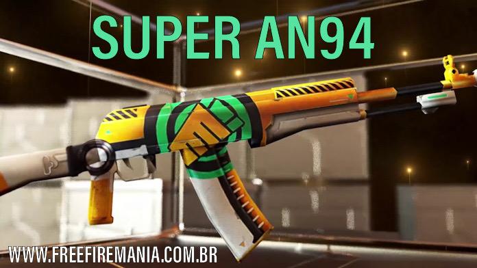 Super AN94 ganha a Skin Vespeiro