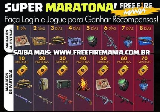 Super Maratona: Faça Login e Jogue Partidas para Ganhar Recompensas!