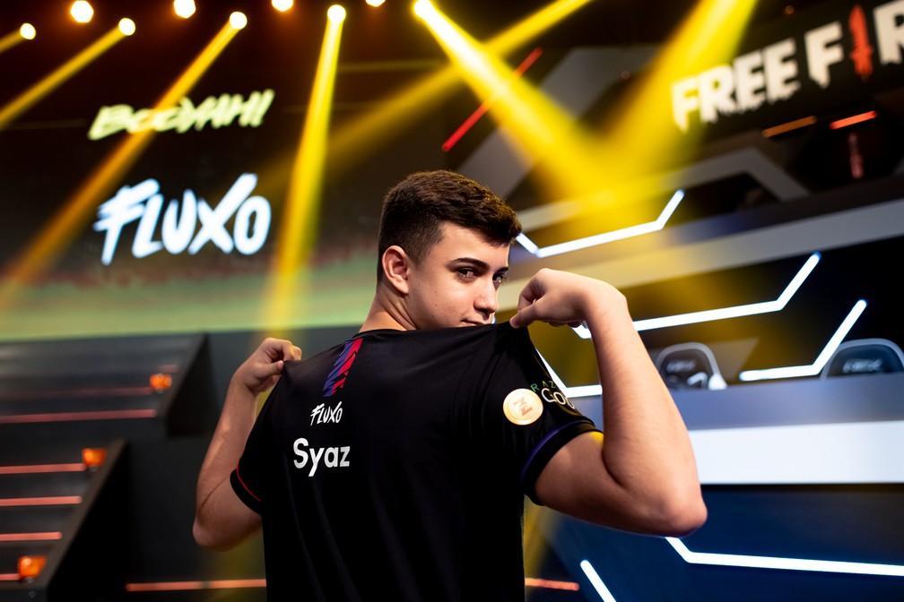 Syaz é o jogador brasileiro com melhor média de abates no mundial de Free Fire 2021
